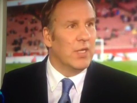 Arsenal v West Ham: Paul Merson struggles to find the words to describe Gunners' first-half performance