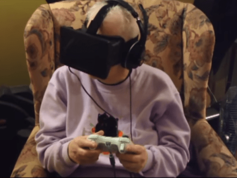 Dying woman gets last wish to go outside from video game VR headset