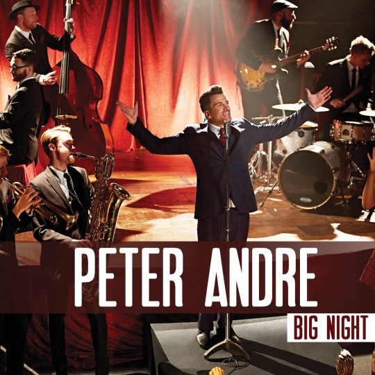 The coverart for Peter Andre's new album (Picture: Promo pic / Dan Kennedy)