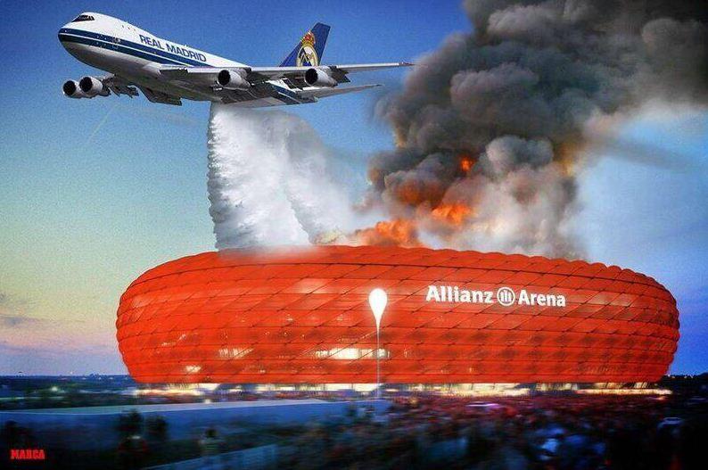 Fabio Cannavaro trolls Bayern Munich during Real Madrid thrashing