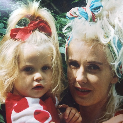 'Me and my mum': Peaches' final tweet was poignant picture of her with late mother Paula Yates