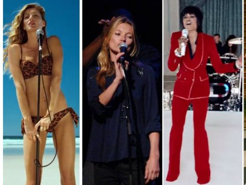 When supermodels sing: Gisele Bundchen, Kate Moss, Miranda Kerr, Cara Delevingne and Naomi Campbell would make an awesome girl band