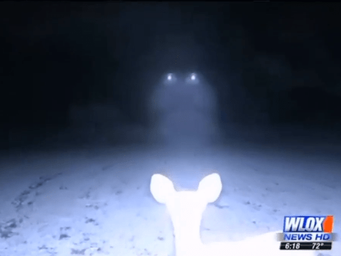 A couple's infrared camera recorded images of mysterious UFO in Mississippi
