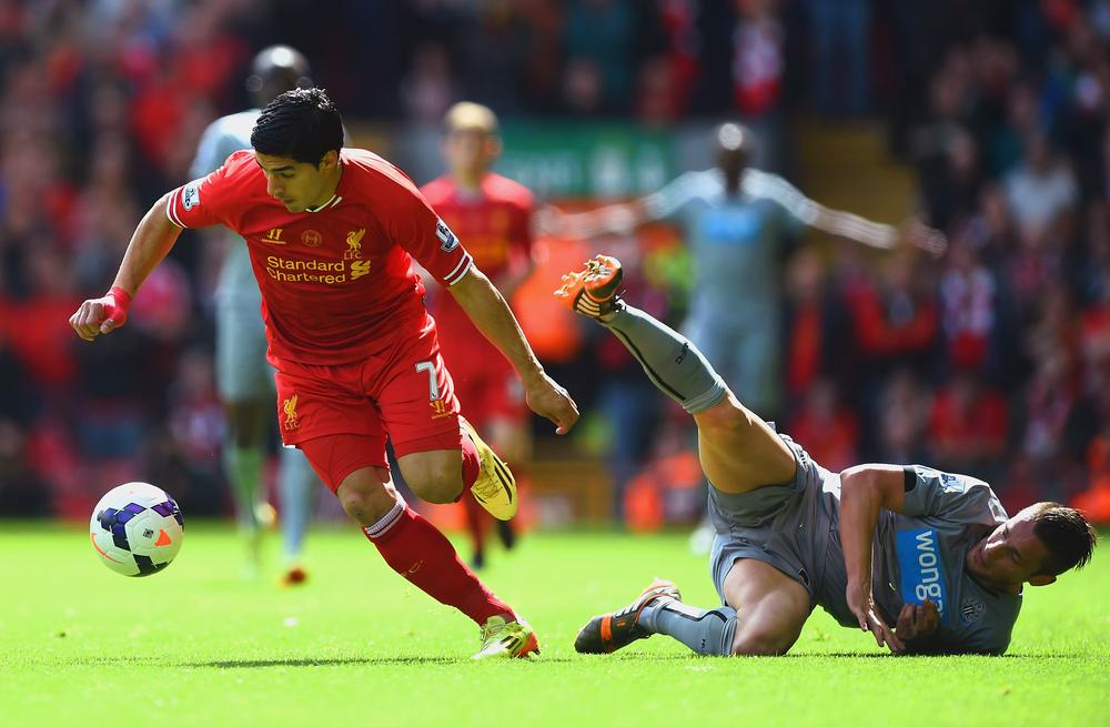 Luis Suarez gets the perfect 10 on Liverpool's end-of-season report card