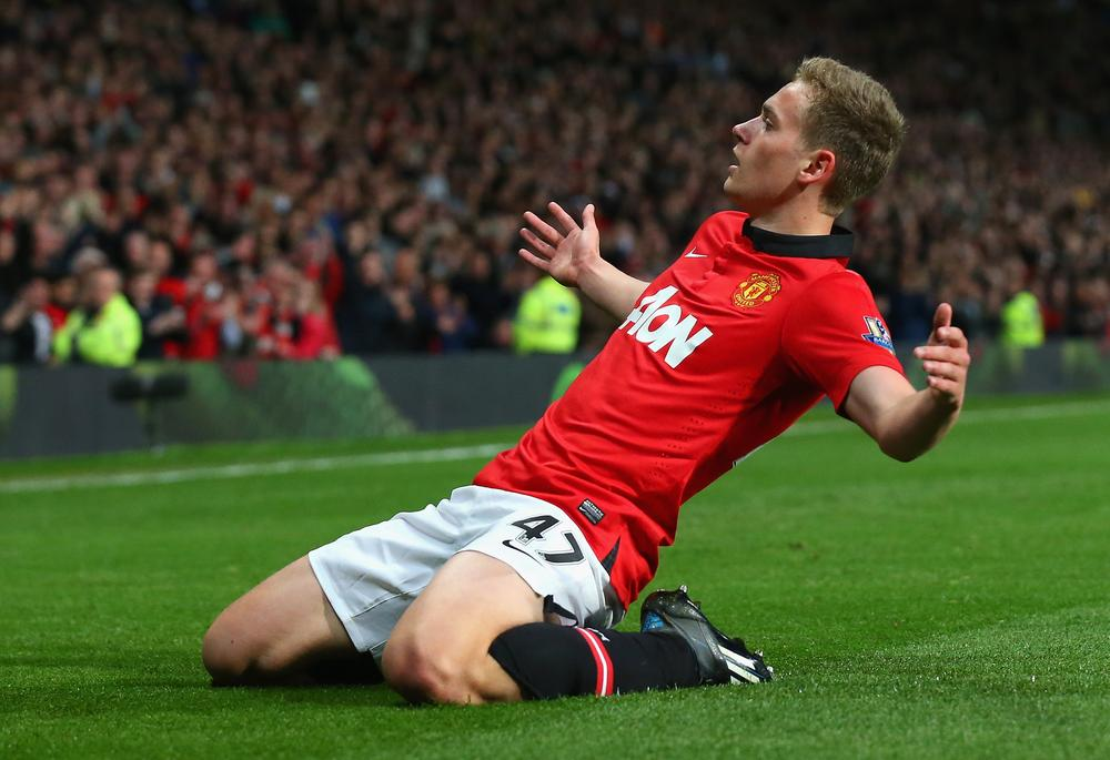 James Wilson bursts onto the scene and repays faith of Ryan Giggs with double for Manchester United