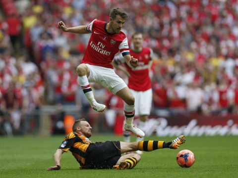 Arsenal give Aaron Ramsey 'little chance' of making Manchester City clash