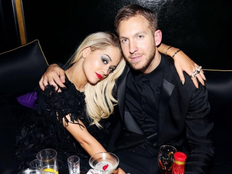 Rita Ora follows Calvin Harris on Instagram now – after sending him flowers following his crash