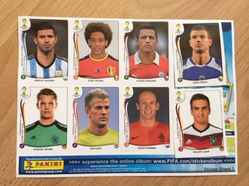 Teacher in hot water after stealing Panini World Cup stickers from students