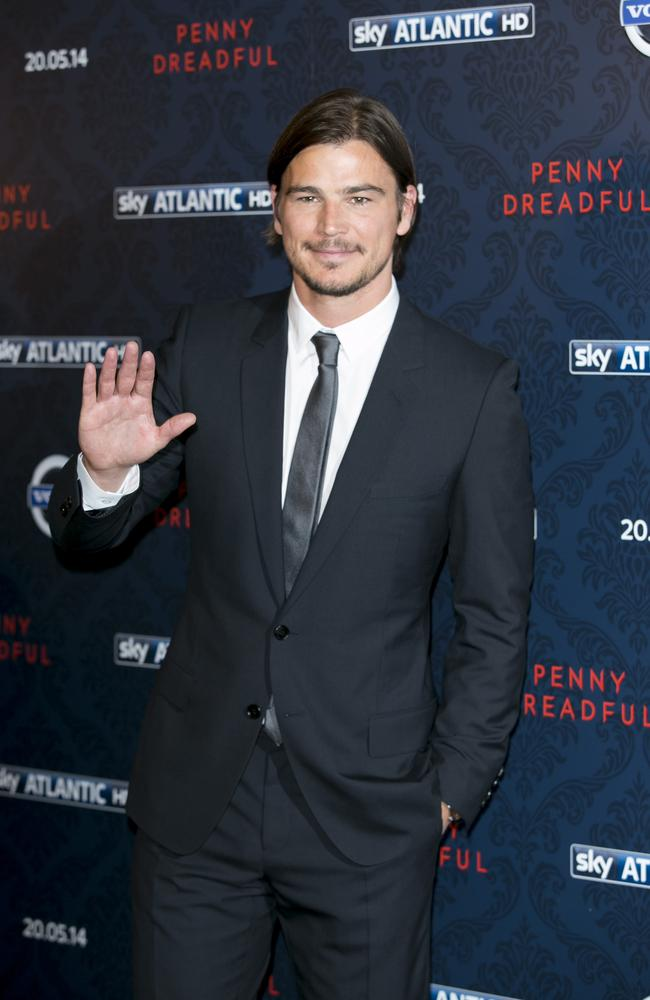 Penny Dreadful star Josh Hartnett: I didn't want to be labelled as Superman for the rest of my career