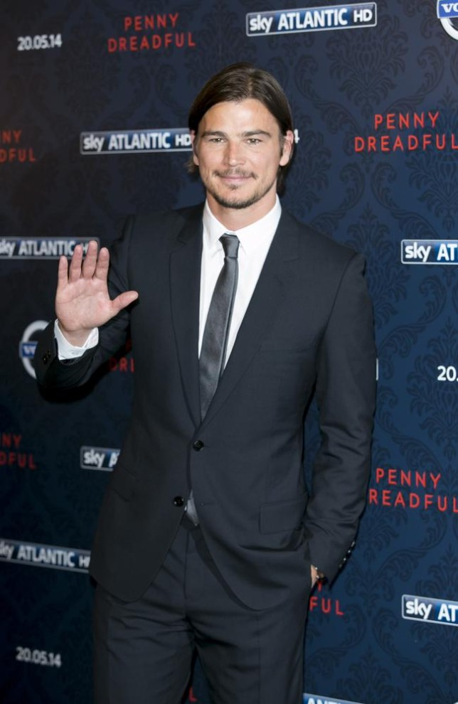U.S actor Josh Hartnett poses for photographers during a photocall for Penny Dreadful at a central London venue, Monday, May 12, 2014. (Photo by John Phillips/Invision/AP)