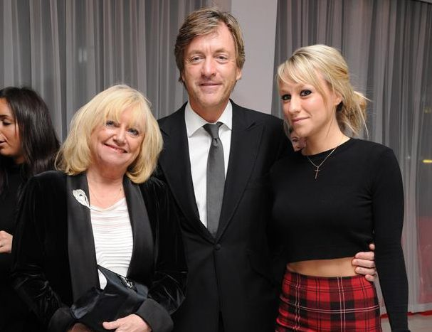 Judy, Richard and Chloe Madeley (Picture: David M. Benett/Getty Images)