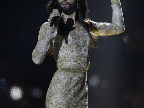 Eurovision 2014:  Austria's Conchita Wurst is already looking like a Eurovision winner