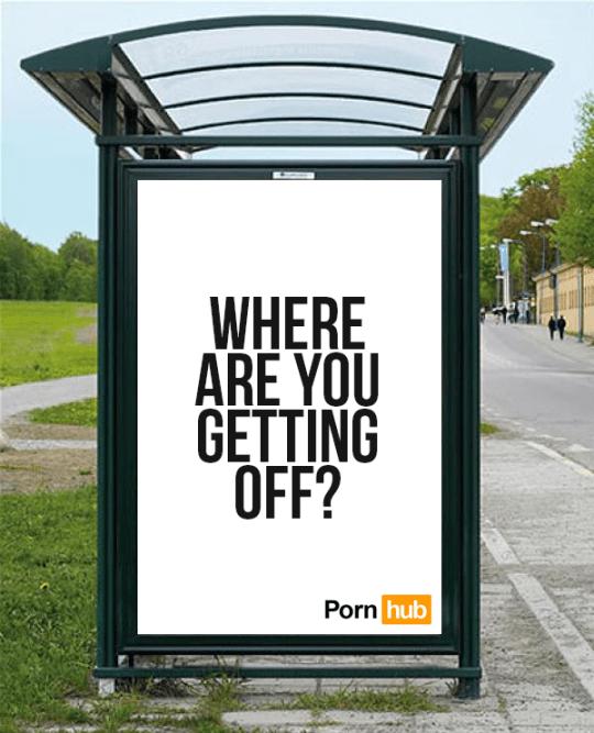 Pornhub advertising campaign (Picture: Pornhub)