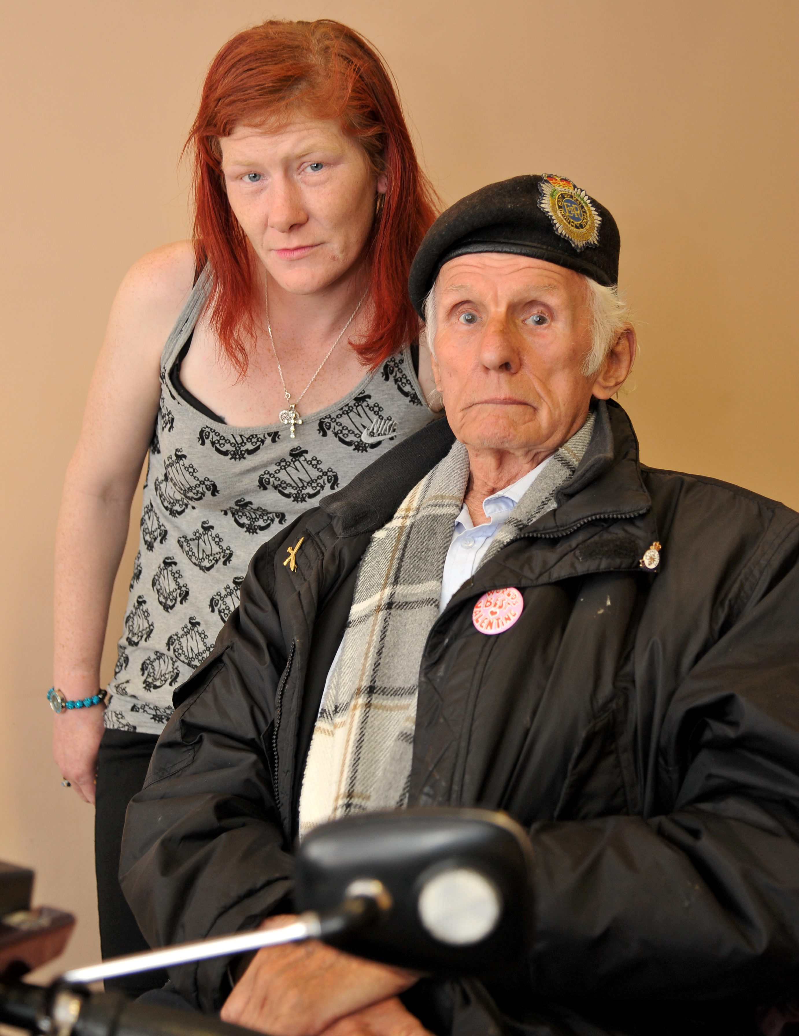 Disabled pensioner, 88, in court for punching council official who banned him from seeing prostitute