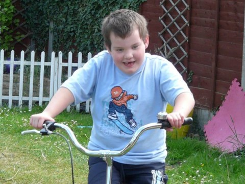 Mum launches online appeal to 'Help Harry' after disabled boy's tricycle stolen
