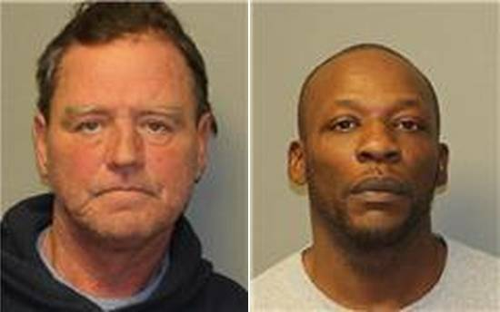 On the left, Thomas Robbins. On the right, Malcolm Sidbury. (New York State Police)