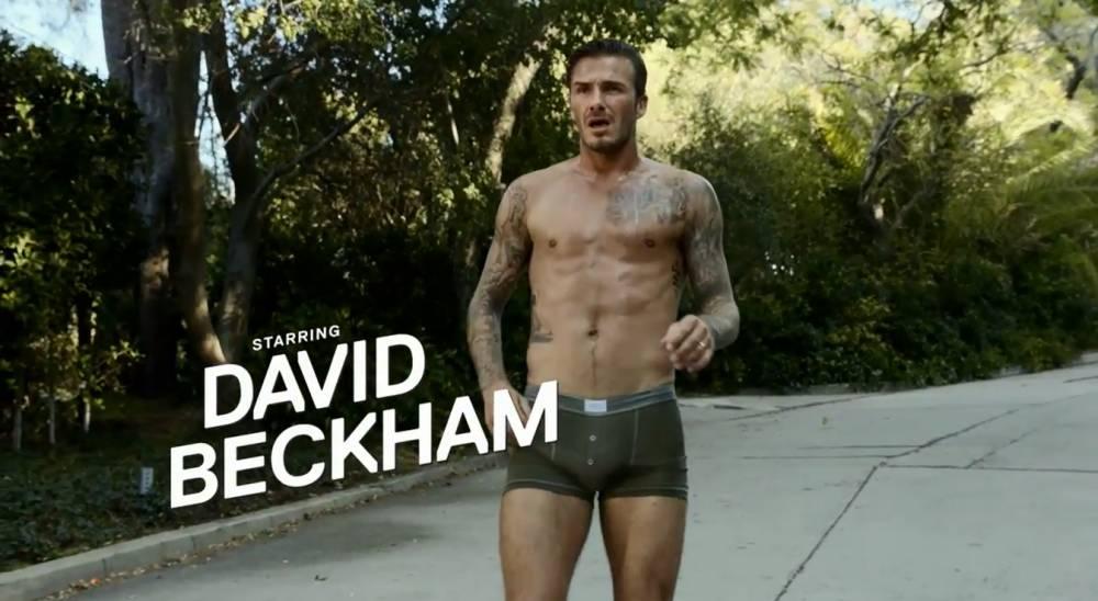 David Beckham, Footballer in a short film directed by Guy Ritchie for Paris-Saint Germain, new bodywear range.
