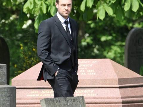 Coronation Street killer Marc Baylis (aka Rob Donovan) couldn't bring himself to watch Tina McIntyre's death