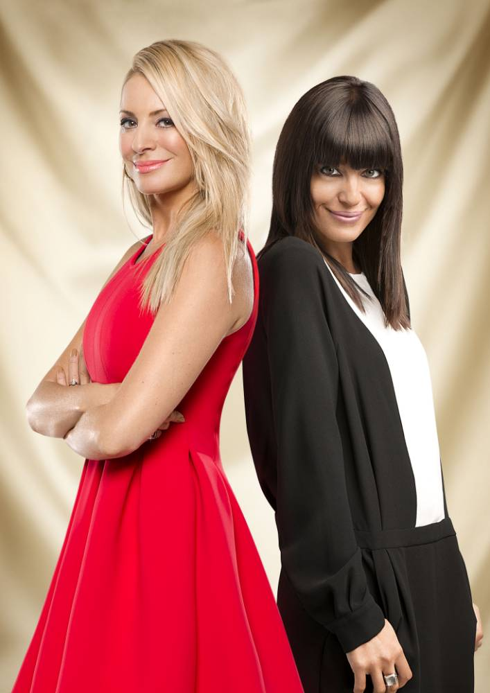 Embargoed to 0001 Saturday May 10 For use in UK, Ireland or Benelux countries only. BBC undated handout photo of Tess Daly (left) and Claudia Winkleman as Winkleman is to join Daly as the pair are confirmed as the new regular hosts of Strictly Come Dancing, following the departure of Sir Bruce Forsyth. PRESS ASSOCIATION Photo. Issue date date: Saturday May 10, 2014. The announcement by the BBC ends weeks of speculation prompted by Sir Bruce's decision to step down from the show after a decade. Daly and Winkleman were strongly fancied to land the permanent slot together after impressing viewers with their on-screen chemistry in the weekly results show and during Sir Bruce's occasional absences. See PA story. Photo credit should read: Ray Burmiston/Guy Levy/BBC/PA Wire NOTE TO EDITORS: Not for use more than 21 days after issue. You may use this picture without charge only for the purpose of publicising or reporting on current BBC programming, personnel or other BBC output or activity within 21 days of issue. Any use after that time MUST be cleared through BBC Picture Publicity. Please credit the image to the BBC and any named photographer or independent programme maker, as described in the caption.