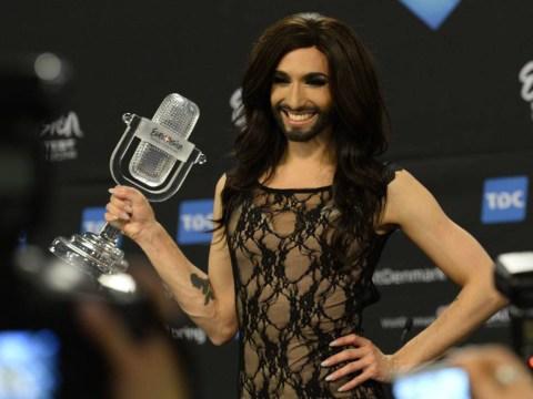 This is Eurovision winner Conchita Wurst pre-beard as Tom Neuwirth