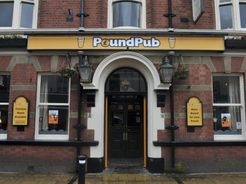 More round for your pound: It's £1 a beer at the Pound Pub bargain boozer