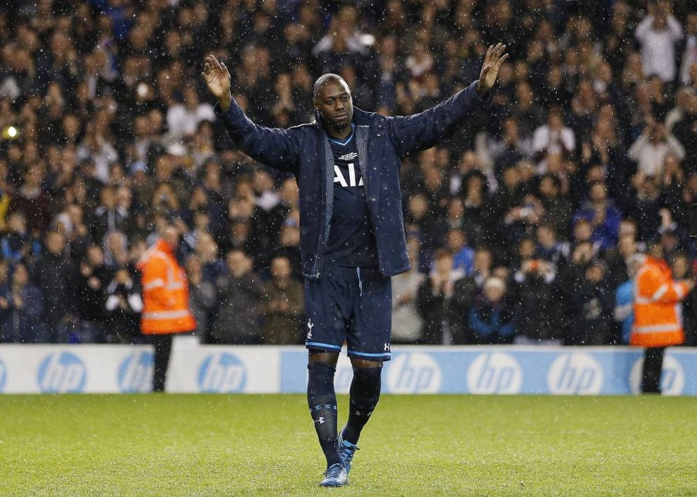 Football - Ledley King Guest XI v Tottenham Hotspur - Ledley King Testimonial - White Hart Lane - 12/5/14  Ledley King Guest XI's Ledley King walks off the pitch after the match  Mandatory Credit: Action Images / Andrew Couldridge  Livepic  EDITORIAL USE ONLY.