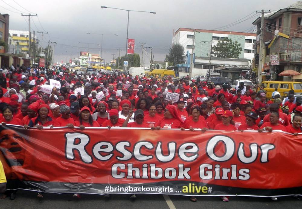 Military force 'an option' to rescue girls kidnapped by Boko Haram in Nigeria