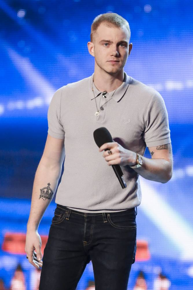 Ed Drewett says he has not yet been hounded by obsessive fans since appearing on Britain's Got Talent