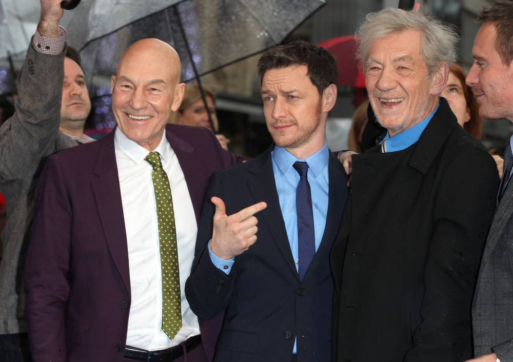 Sir Ian McKellen and Sir Patrick Stewart have been let into Taylor Swift's squad