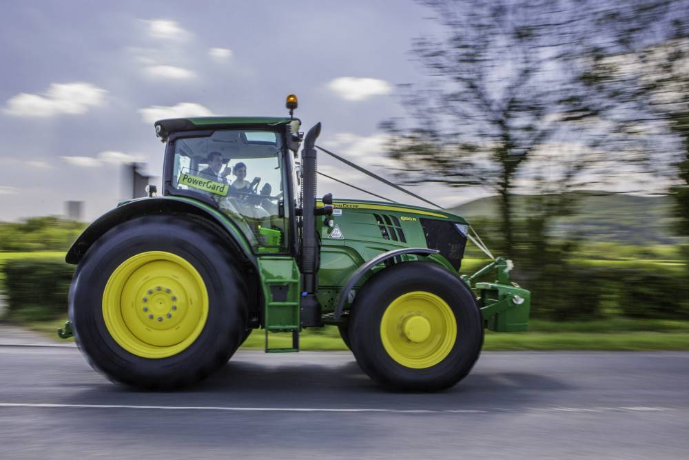 Wurzels fans travel to and from their own wedding in tractor while playing Combine Harvester