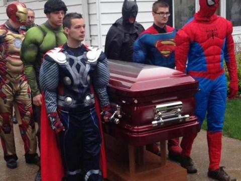 5-year-old cancer sufferer Brayden Denton receives superhero funeral