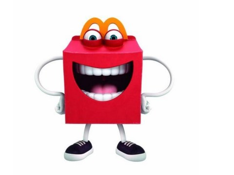 McDonald's unveil horrifying new mascot called Happy