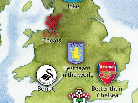 'Manchester City are the team we aspire to be, Liverpool are cheats and Arsenal are better than Chelsea' – what Google thinks of every Premier League club