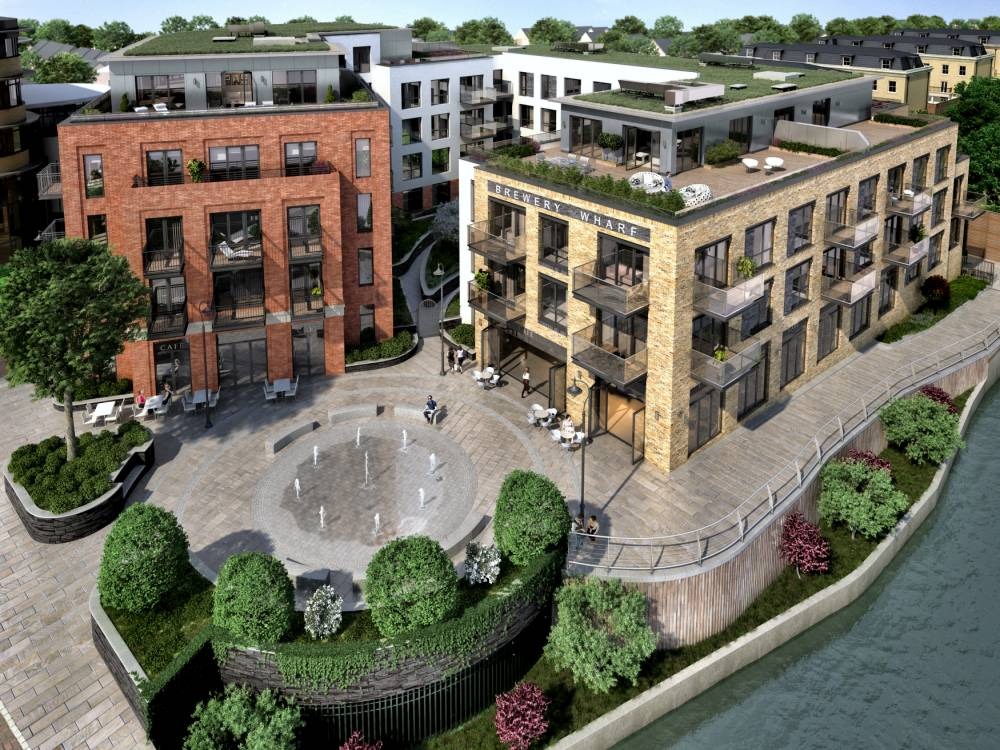 Brewery Wharf in Twickenham has 71 apartments and 28 townhouses (Picture: supplied)