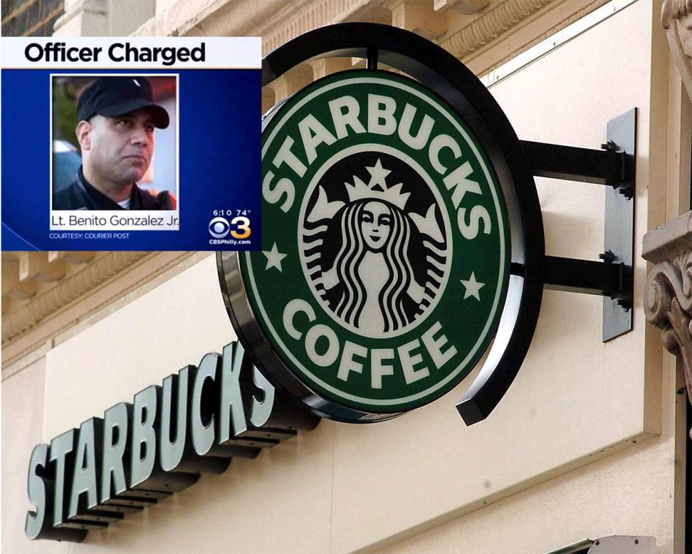 Things you'd never want to confess to your mum, no 456: Police officer gets caught masturbating in Starbucks coffee shop