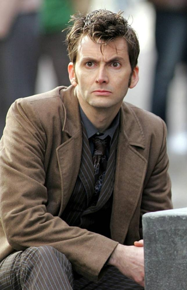 Mandatory Credit: Photo by Huw John/REX (646481aj).. David Tennant as Dr Who.. 'Dr Who' TV Programme Filming, Cardiff, Wales, Britain - 21 Feb 2007.. ..