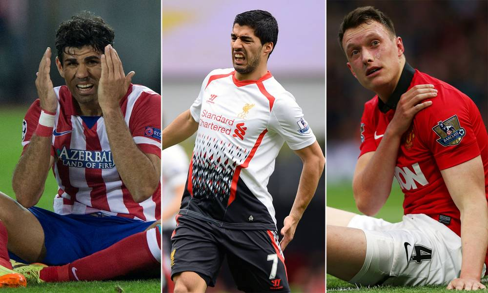 Top 10 World Cup injury doubts: Who is racing against time to be fit for Brazil 2014?