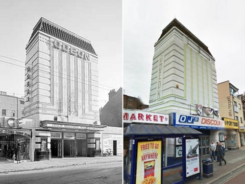 8 pictures of 1930s Odeon cinemas then and now – some might even make you cry