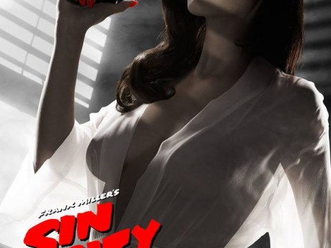 This Sin City: A Dame To Kill For poster featuring Eva Green isn't too popular with the US censors