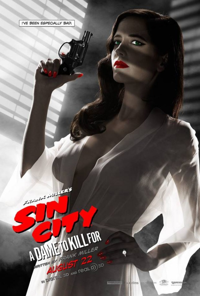 Sin City 2 poster featuring Eva Green