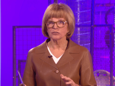 Why is Anne Robinson wearing a jacket made from her own skin?