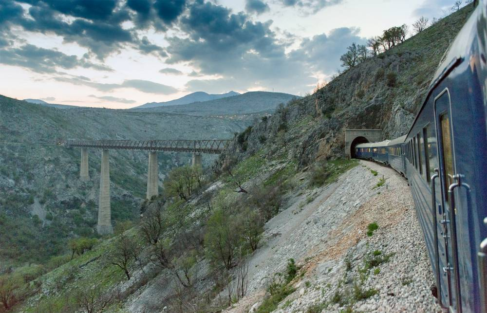 Take a romantic rail trip through the Balkans and get your love life on track