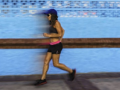 Don't mind me… introducing the woman who runs backwards