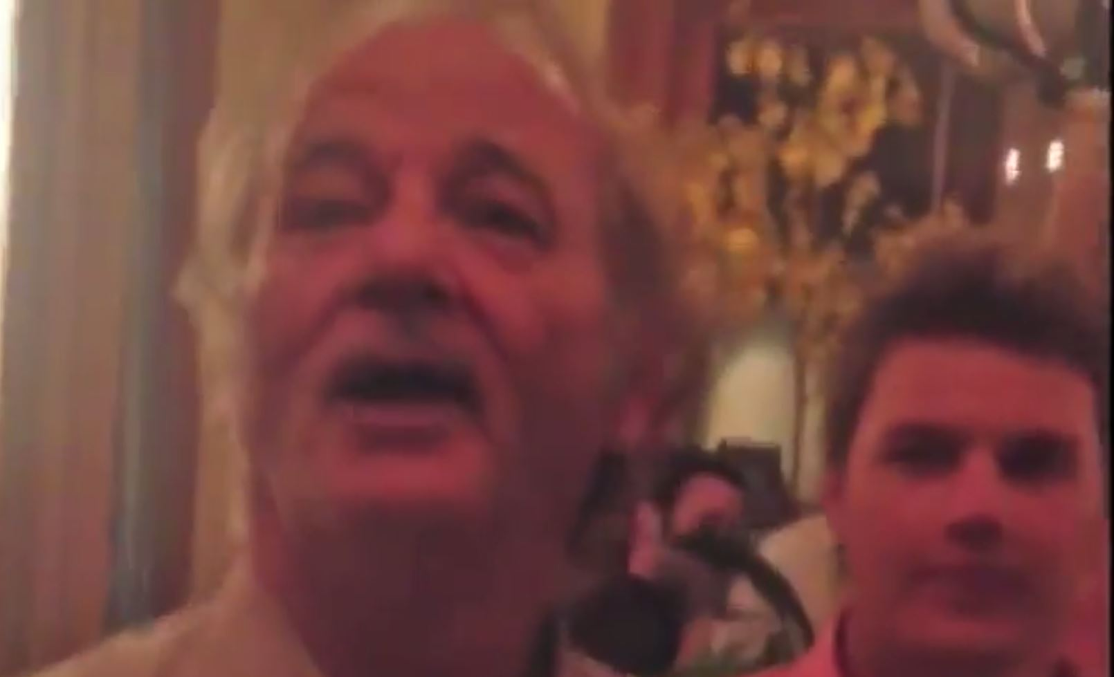 This is what happens when Bill Murray gatecrashes your bachelor party