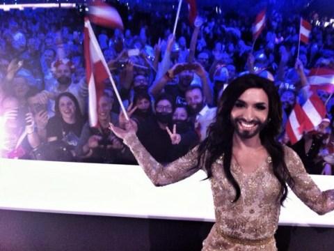 What Conchita did next: Eurovision winner Conchita Wurst wants to win a Grammy