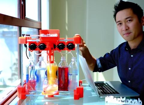 Meet Bar Mixvah, the drink-making robot