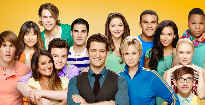 End of the road for Glee (Picture: Fox)
