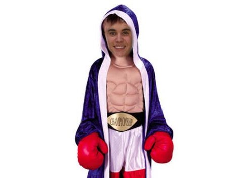 Boxing champion David Haye impressed after training Justin Bieber