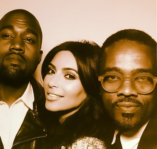 Check out these fun pictures from Kim Kardashian and Kanye West's wedding reception photobooth