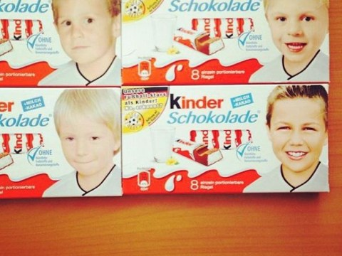 Bayern Munich duo Mario Gotze and Toni Kroos were child Kinder stars